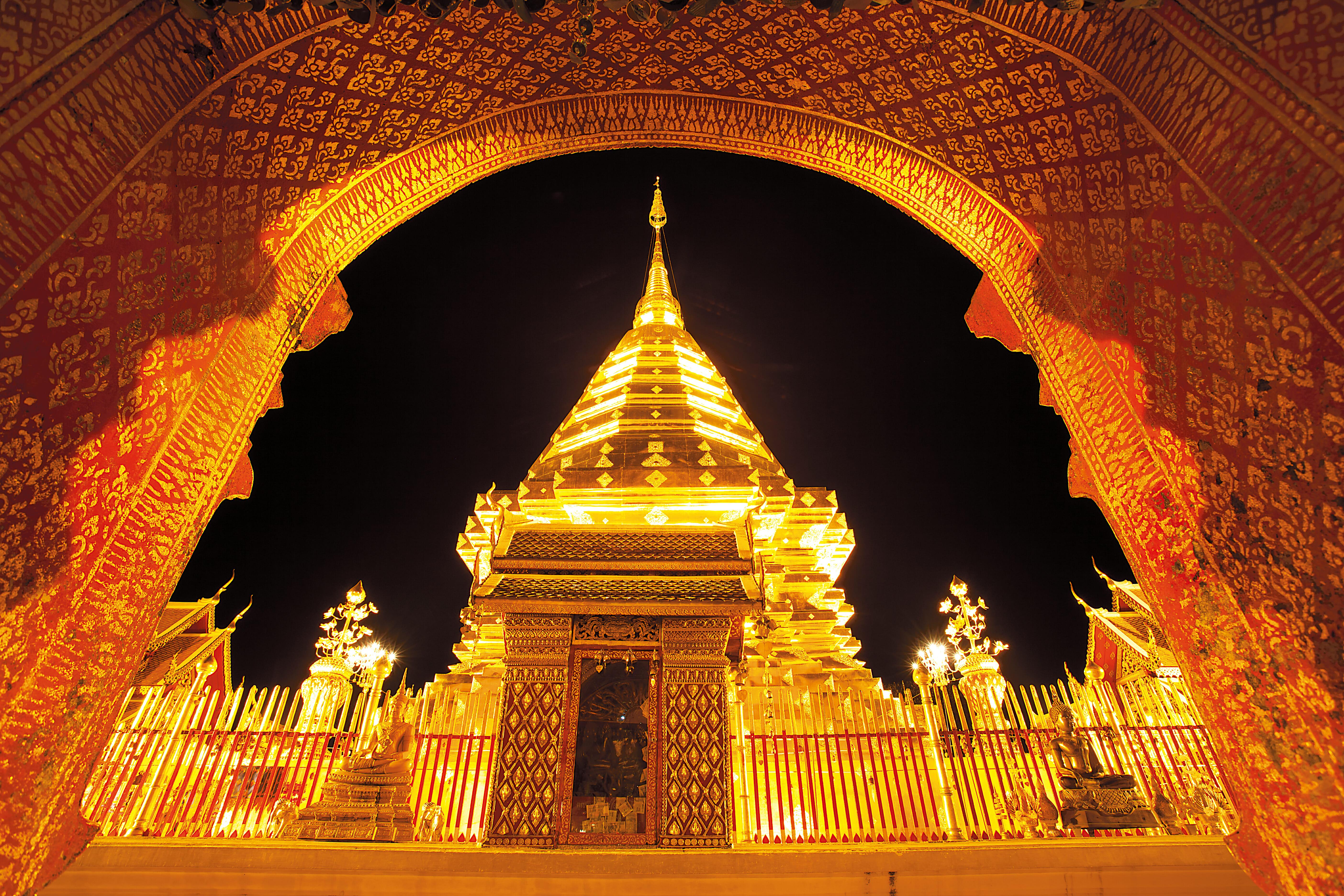 89 Chiang Mai-Wat Phra That Doi Suthep (วัดพระธาตุดอยสุเทพ) 001BB